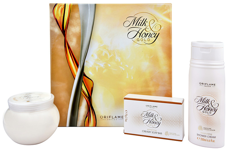 Oriflame Dárková sada Milk and Honey Gold