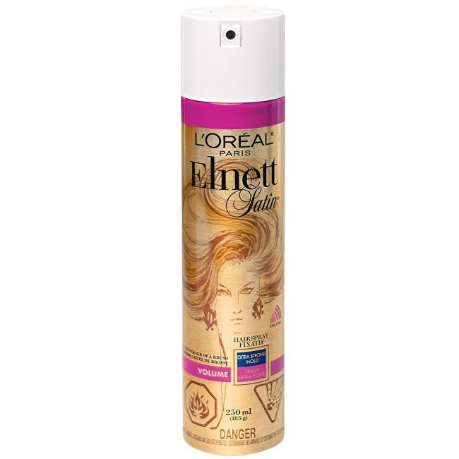 Loreal Paris Lak na vlasy s extra silnou fixací pro objem vlasů Elnett Satin 250 ml