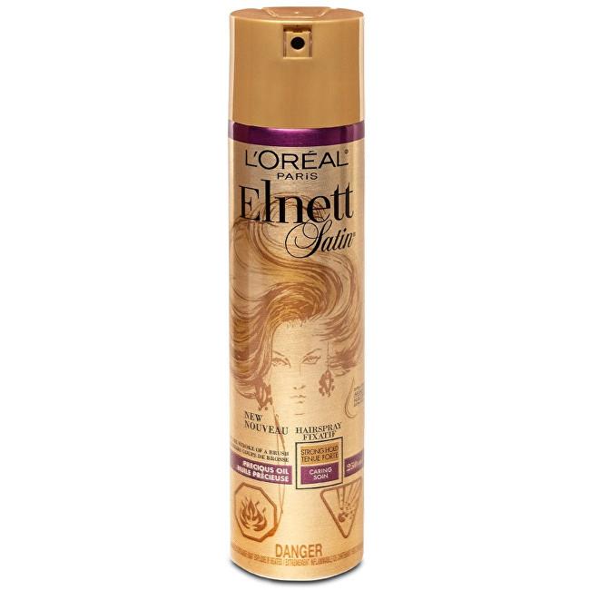 Loreal Paris Lak na vlasy s arganovým olejem Elnett Satin 250 ml