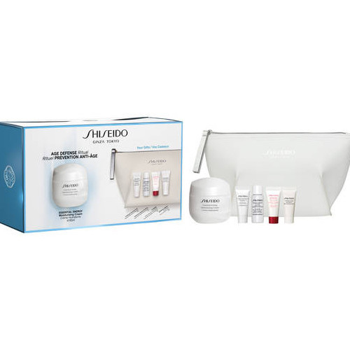 Shiseido dárková sada pleťové péče Essential Energy 72 ml