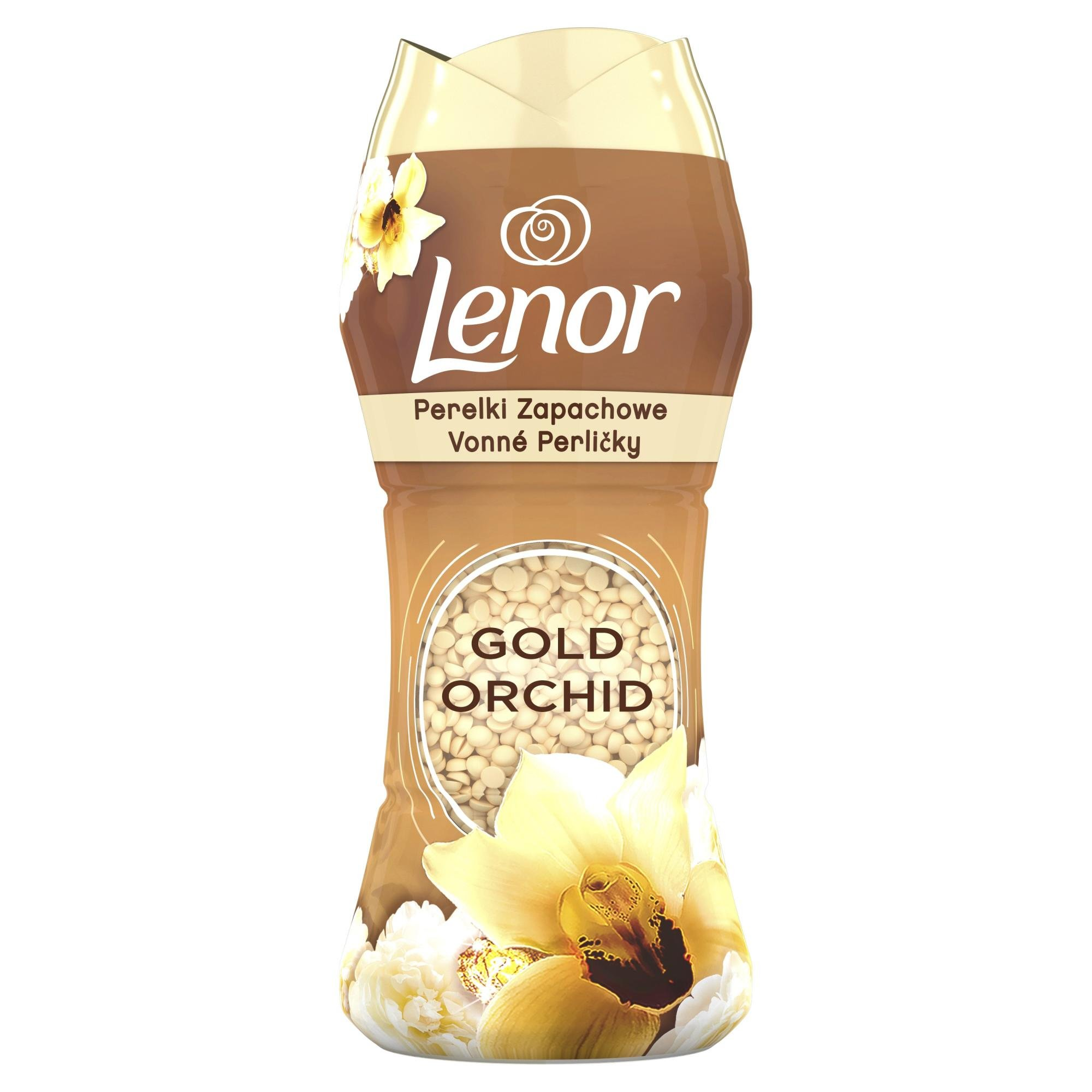 Lenor Unstoppables vonné perličky Gold Orchid 140 g