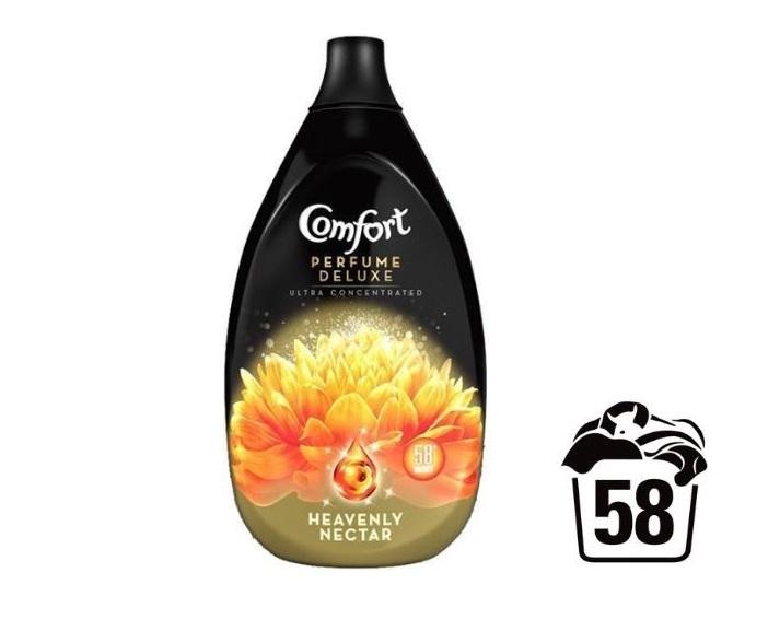 Coccolino Deluxe aviváž Heavenly Nectar, 58 praní 870 ml