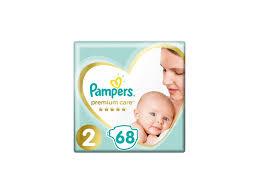 Pampers Premium jednorázové pleny velikost 2 68 ks/bal.