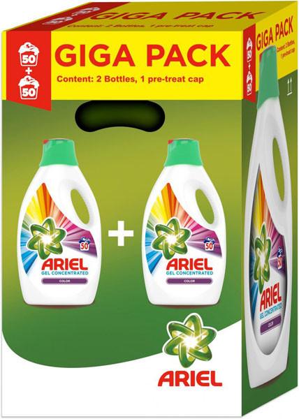 Ariel Color prací gel, 100 praní 5,5 l