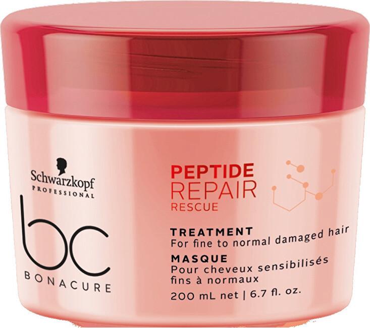Loreal Professionnel Obnovující maska pro poškozené vlasy BC Bonacure Repair Rescue Peptide 200 ml