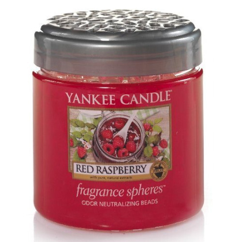 Yankee Candle Vonné perly Red Raspberry 170 g