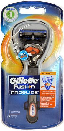 Gillette Fusion Proglide Flexball + náhradní hlavice 2 ks/bal.