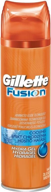 GILLETTE Fusion ProGlide Cooling gel na holení se zklidňujícím složením s mentolem 200 ml