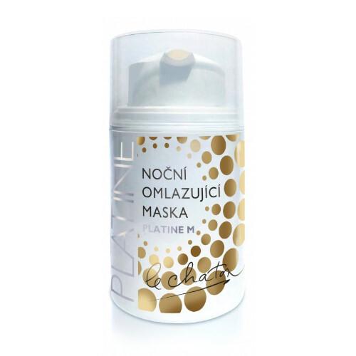 Le Chaton Noční omlazující pleťová maska Platine M 50 g