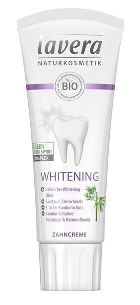 Lavera Bělicí zubní pasta s bambusem Whitening 75 ml