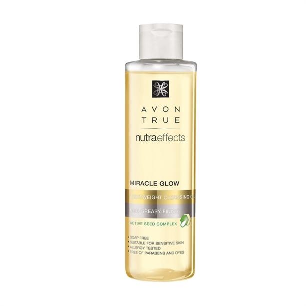 Avon Čisticí pleťový olej True NutraEffects 125 ml