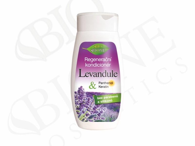 Bione Cosmetics tegenerační vlasový kondicionér Levandule 260 ml