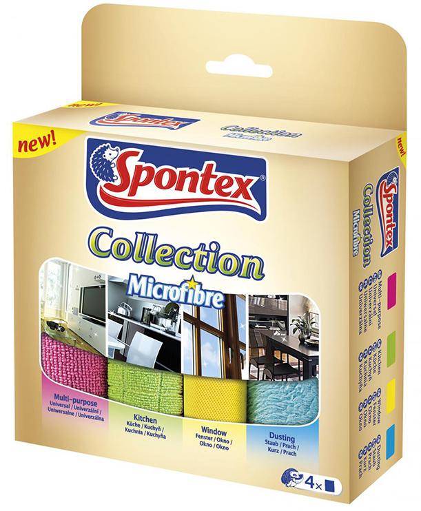 Spontex Collection utěrka z mikrovlákna 4 ks/bal.