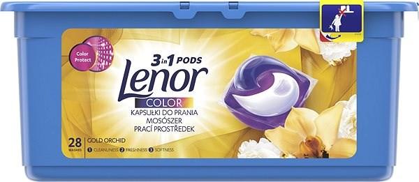 Lenor Silk Orchid 3v1 gelové kapsle, 28 praní 28 ks