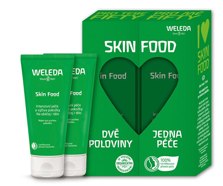 Weleda Dárková sada Skin Food pro spřízněnou duši 75 ml +75 ml