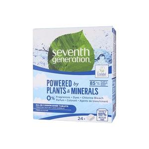 Seventh generation Free & Clear tablety do myčky 24 ks