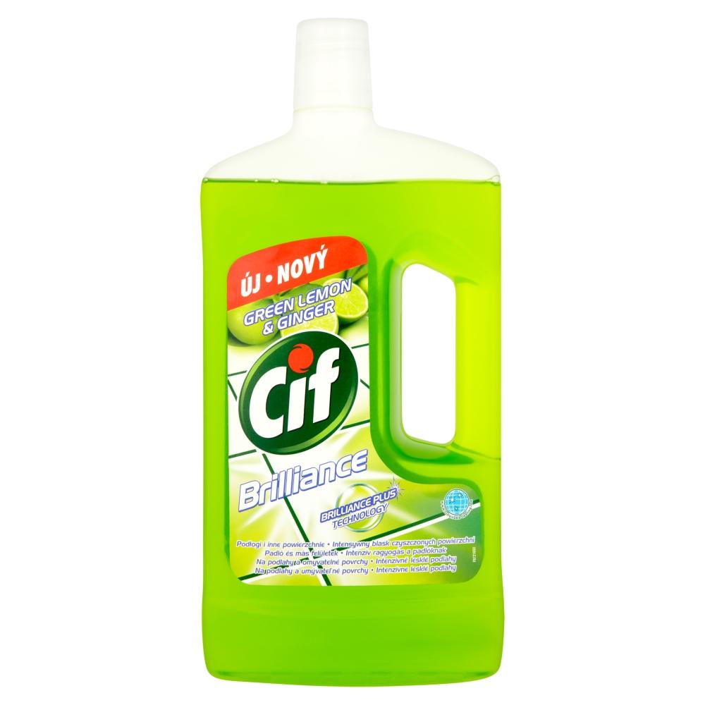 CIF Brilliance Green Lemon&Ginger univerzální čistič 1000 ml