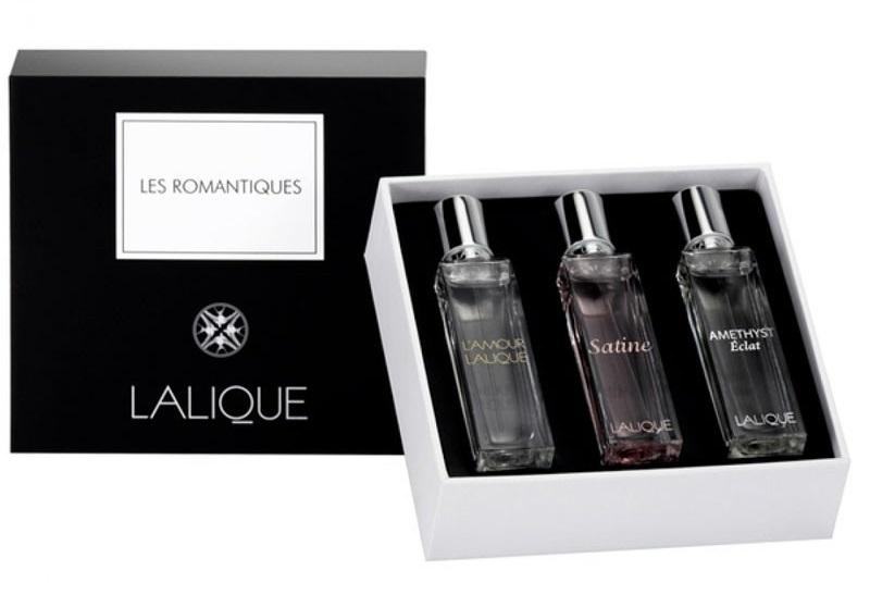 Lalique Kolekce miniatur Les Romantiques - EDP 3 x 15 ml