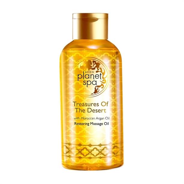 Avon Obnovující masážní olej s marockým arganovým olejem Planet Spa 150 ml