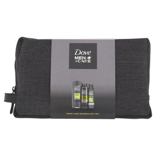 Dove Kosmetická sada péče o tělo pro muže + toaletní taška Men+Care