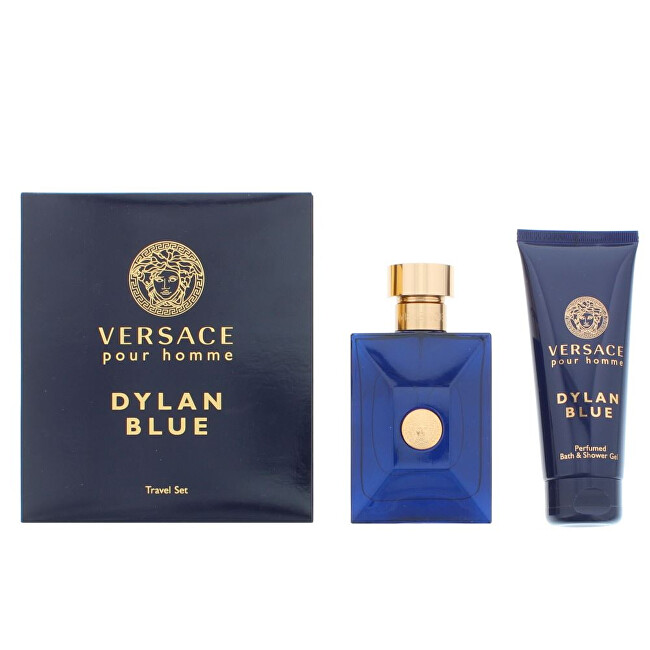 Versace Versace Pour Homme Dylan Blue - EDT 100 ml + sprchový gel 100 ml