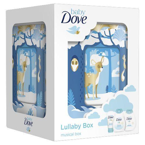 Dove Kosmetická sada kompletní péče o miminka s hrací skříňkou (Lullaby Box)