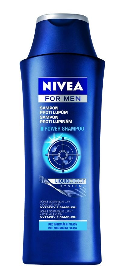 Nivea šampon Men Power proti lupům 250 ml