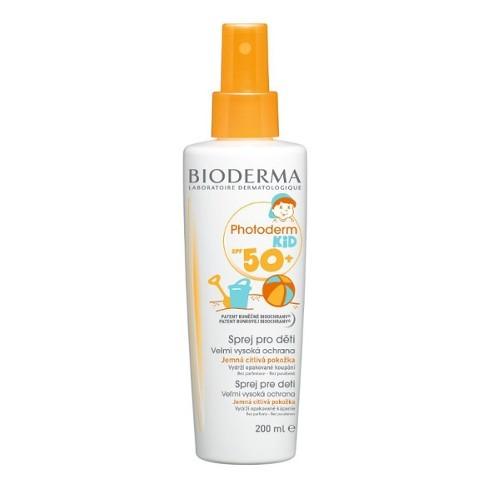 Bioderma Voděodolný opalovací sprej pro děti SPF 50+ Photoderm Kid 200 ml