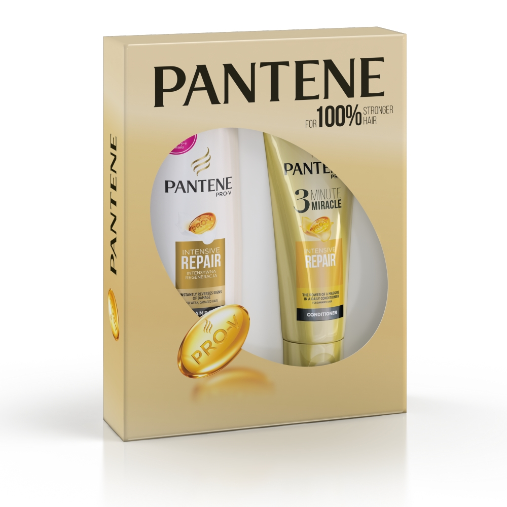 Pantene Dárková sada Šampon 400 ml + Kondicioner 200 ml