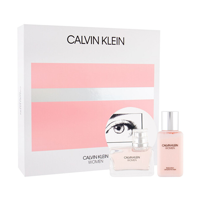 Calvin Klein Women - EDP 50 ml + tělové mléko 100 ml