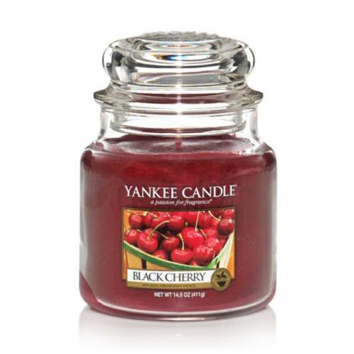 Yankee Candle Vonná svíčka Classic střední Zralé třešně 411 g