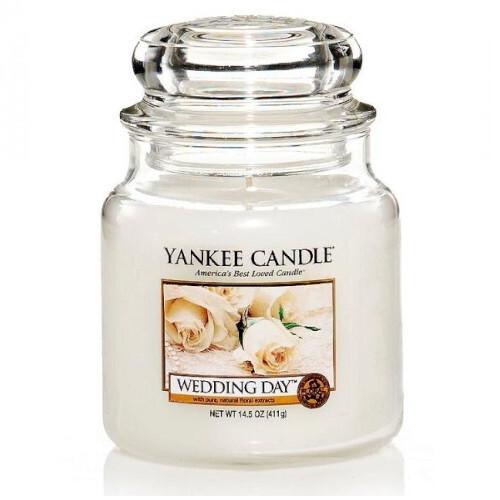 Yankee Candle Aromatická svíčka střední Wedding Day 411 g