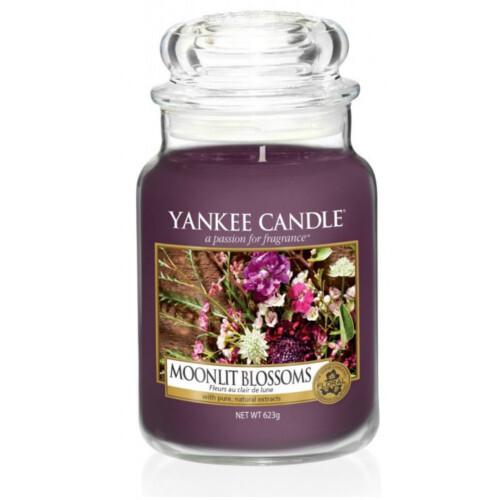 Yankee Candle Aromatická svíčka velká Květiny ve svitu měsíce 623 g