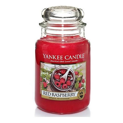 Yankee Candle Aromatická svíčka velká Červená malina 623 g