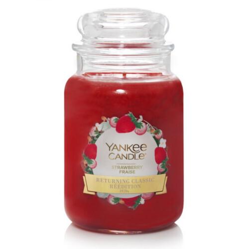 Yankee Candle Aromatická svíčka Jahoda 623 g