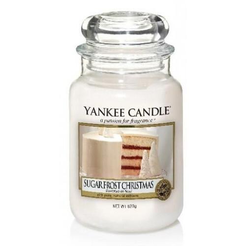 Yankee Candle Aromatická svíčka velká Vánoce s cukrovou polevou 623 g