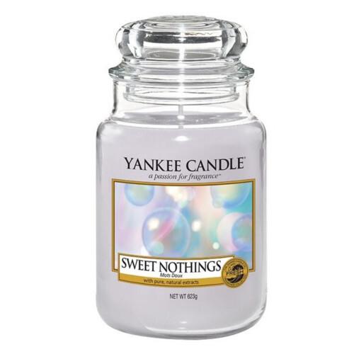 Yankee Candle Vonná svíčka velká Sladká nic (Sweet Nothings) 623 g