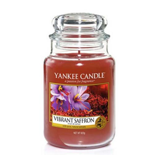 Yankee Candle Vonná svíčka velká Živoucí šafrán 623 g