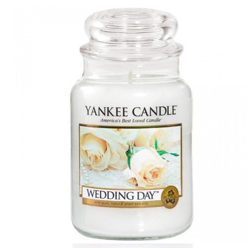 Yankee Candle Aromatická svíčka velká Svatební den 623 g
