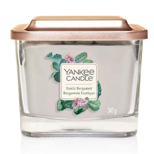 Yankee Candle Aromatická svíčka střední hranatá Exotic Bergamot 347 g