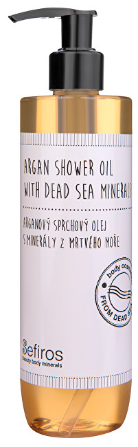 Sefiros Arganový sprchový olej s minerály z Mrtvého moře 300 ml