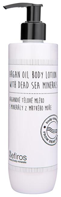 Sefiros Arganové tělové mléko s minerály z Mrtvého moře 300 ml