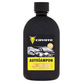 Coyote Autošampon s voskem 500 ml