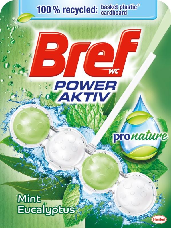 BREF Power Aktiv WC kuličky Nature Mint 50 g
