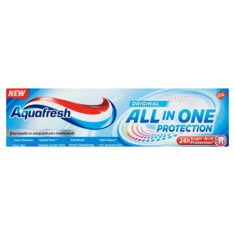 Aquafresh All in One Protection Original zubní pasta s fluoridem 75 ml