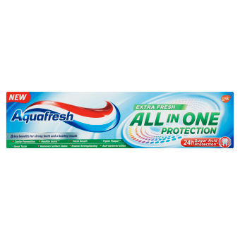 Aquafresh All in One Protection Extra Fresh zubní pasta s fluoridem 75 ml