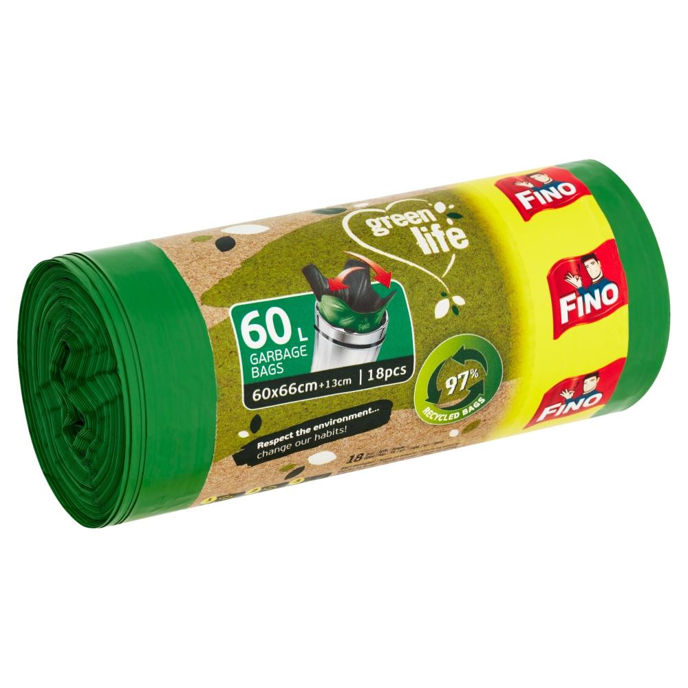 Fino Green Life odpadkové pytle 60 l 18 ks