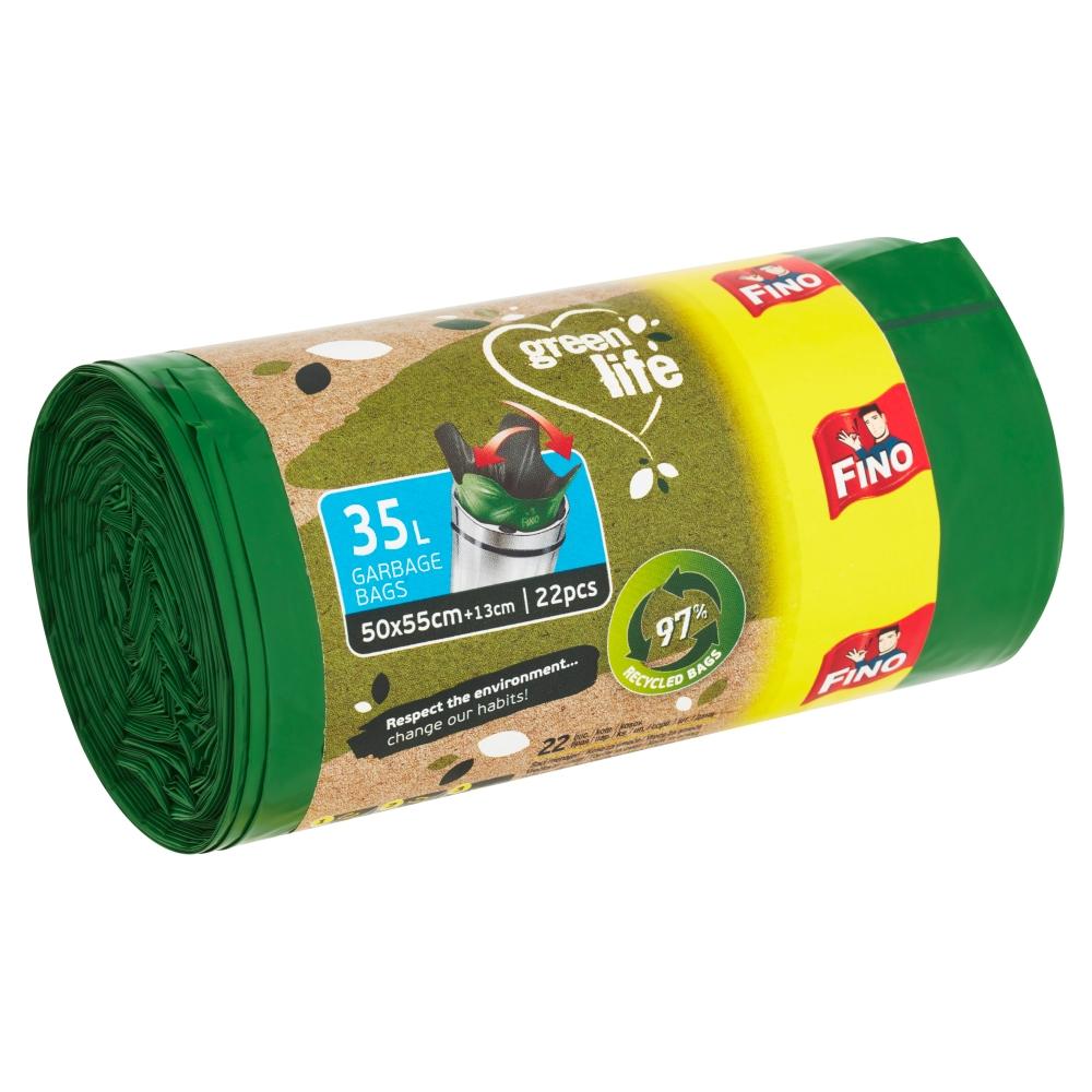 Fino Green Life odpadkové pytle 35 l 22 ks