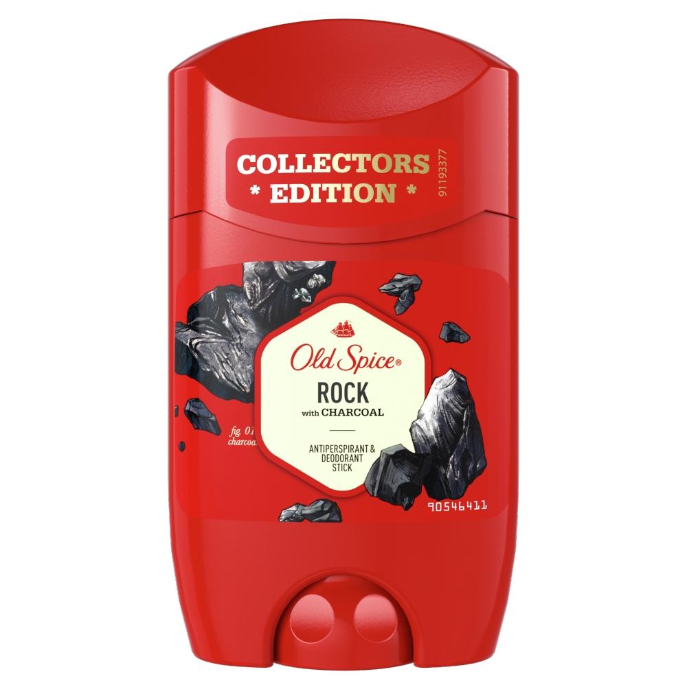 Old Spice Rock tuhý antiperspirant a deodorant pro muže 50 ml
