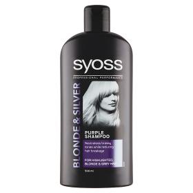 Syoss šampon Blonde&Silver pro blond vlasy 500 ml